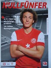 Programm 2011/12 1. FSV Mainz 05 - VfB Stuttgart