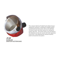 Dental Suction Base Desktop Lab Equipment for Dust Collector JT-49 EM