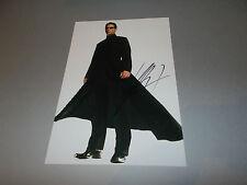 Keanu Reeves Matrix  signed signiert  Autogramm auf 20x30  Foto in person