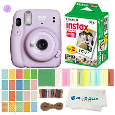 Fujifilm Instax Mini 11 Instant Film Camera (Lilac Purple)Film and Accessories