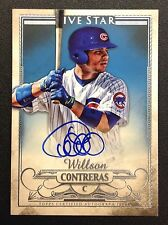 WILLSON CONTRERAS Auto 2016 Topps Five Star On Card Autograph Chicago Cubs