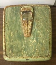 Vintage Harmony House Scale Sea Foam Green Bathroom Scale Weight Pounds Decor