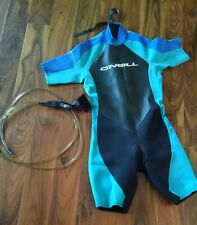 Shortie Wetsuit O'neill Reactor XL With Ankle Cord