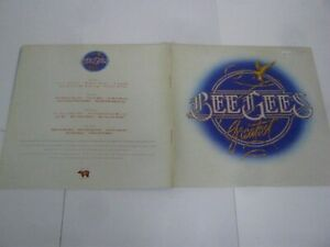 RECORD ALBUM BEE GEES GREATEST 1833