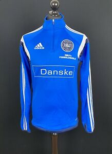 Adidas Denmark Training Track Jacket Men's Size S Danske Soccer Tracksuit Top