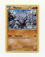 Rhyhorn 8/12 - McDonald's Promo Pokemon Card - Holo