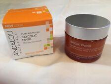 Andalou Naturals Pumpkin Honey Glycolic Mask, 1.7 oz. Brand New!