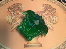 VERSACE MEDUSA CRYSTAL PAPERWEIGHT NEW RETIRED  1 left for SALE daum