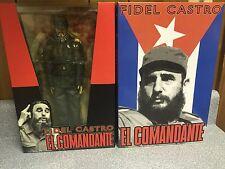 FIDEL CASTRO EL COMANDANTE 12'' FIGURE BLITZKRIEG TOYZ MILITARY NEW