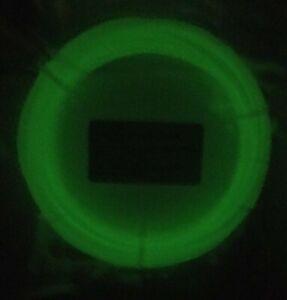 1.75mm PLA 3d filament printer pen sample 61.8ft 58g Glow-in-the-dark Sunlu