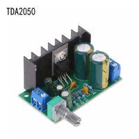 TDA2050 Mono Audio Endstufe Board Modul DC 12-24 V 5 Watt-120 Watt 1-kanal DE