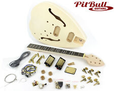 Pit Bull Guitars FTD-1E Semi-Hollow Electric Guitar Kit (Ebony Fretboard)