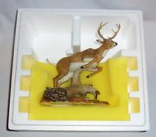 """Lenox Americas Wildlife Collection White Tailed Deer 1991 (8"""" Tall)"""