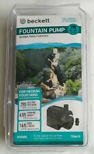 Beckett Corporation 290 GPH Submersible Fountain Water Pump for Indoor/Outdoor