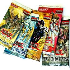 5-Pack LOT Yugioh GX Booster PROMO Collectible FREE SHIPPING
