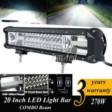 20inch 270W CREE LED Work Lights Bar for Truck 4WD boat SUV UTE ATV Driving Lamp