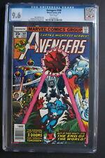 AVENGERS #169 Black Panther Captain America Iron Man 1978 Mark Jewelers CGC 9.6