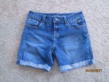 Girls JUSTICE Jean Denim Shorts 12R