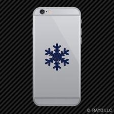 Alaska Snowflake Cell Phone Sticker Mobile AK snow flake snowboard skiing skii