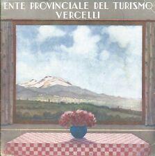 Vercelli Ente Prov. Turismo 1936 Fascismo OND - Biella Fobello Valsesia Viverone