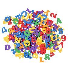 Bastelzubehör selbstklebende Schaumstoff Sticker Buchstaben und Zahlen
