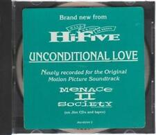 Hi-Five: Unconditional Love PROMO MUSIC AUDIO CD Radio Edit, No Intro LP 42144-2