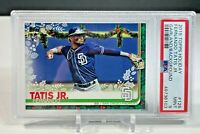 Fernando Tatis Jr. 2019 Topps Holiday w/ Garland SP Rookie #126 PSA 9 MINT RC
