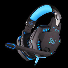 Professional Gaming Headphone Headset Stereo Bass LED for PC Gamer BU Magical