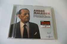 ANDRE MALRAUX AUDITION 12 MAI 1976 COMMISSION LIBERTES ASSEMBLEE NATIONALE CD.