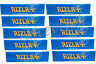 RIZLA BLUE KING SIZE SLIM CIGARETTE SMOKING ROLLING PAPERS 10 BOOKLETS