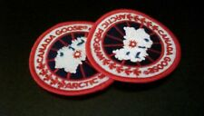CANADA GOOSE BADGE Red Free Uk postage 2 badges