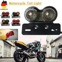 Smoke E11 Motorrad Rücklicht Blinker Bremslicht Heckleuchte Nummernschild Lampe