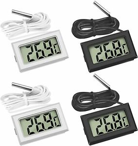 LCD Digital Fridge Thermometer Probe Fridge Freezer Temperature UK Seller