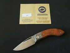 navaja fox oreste frati  folder knife.
