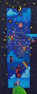 Andrea Agostini - Osservo le emozioni colorare... - Serigrafia - cm. 20 x 50