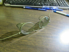 ANTIQUE MOTORCYCLE / AVIATOR - WIRE RIMMED GLASSES - VERY GOOD