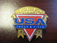 U.S. Track And Field Sports Federation 1996 Go For The Gold Pin