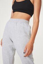 Factorie Womens Classic Trackpant Fleece Bottoms  In  Grey
