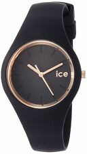 Ice-Watch Glam Black Rose Gold Women's Watch 000979