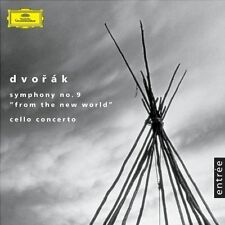 Levine/Fournier/Szell - Dvorák - Symphony #9 ; Cello Concerto CD FREEUK24-HRPOST