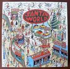 Vintage SANTA'S WORLD Puzzle 500 pcs COMPLETE 1995 Hallmark VGC Christmas