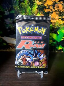 Pokemon team rocket 1st Booster pack English