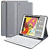 iPad Keyboard Case for New iPad 10.2 2019(7th Gen)- Detachable Wireless Keyboard