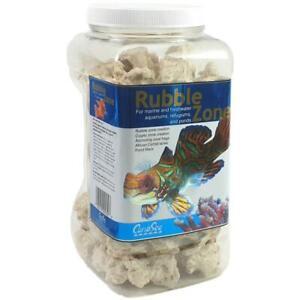 (EUR 7,86/Kg) CaribSea Rubble Zone 2,9 kg Steine für Korallenableger & mehr