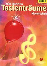 Klavier Noten Schule : Meine allerersten Tastenträume Band 3 - VHR 3402 KINDER