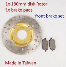 Disk brake rotor & Brake pads for Yamaha BeeWee Zuma BWS 50cc