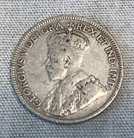 Canada Newfoundland 1919 . C 25 cents Quarter looks Great!