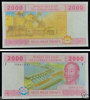 ECCAS Equatorial Guinea Banknote (F) 2000 Francs UNC