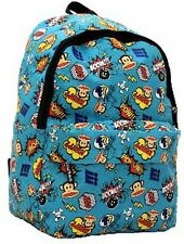 PAUL FRANK - JULIUS MONKEY COMIC BOOK/POW SCHOOL BACKPACK - BLUE