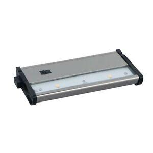 Maxim CounterMax MX-L120DC 7' 2700K 2-LED Under Cabinet in Satin Nickel 89922SN